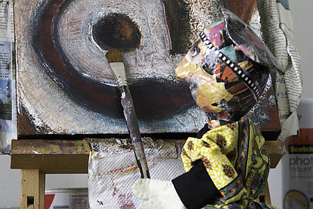 L'artiste painting