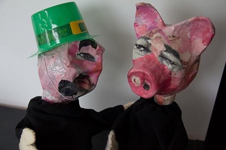 st patricks pig