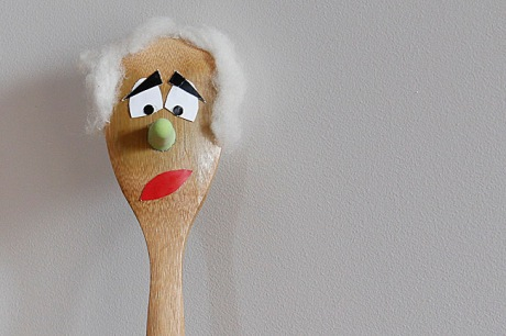 spoon puppet