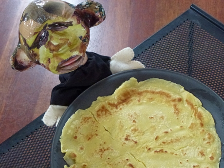 monkey pancake