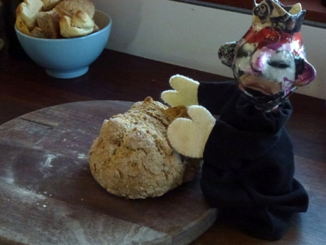 snotty nosed soda bread