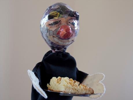 crumb cake clown
