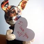 Harvey loves everyone