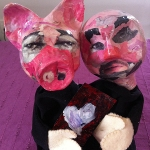 Professor, Pigs long-term partner knows that love is a work in progress