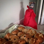 Our friend Lil'Mouse send an email with proof of her baking